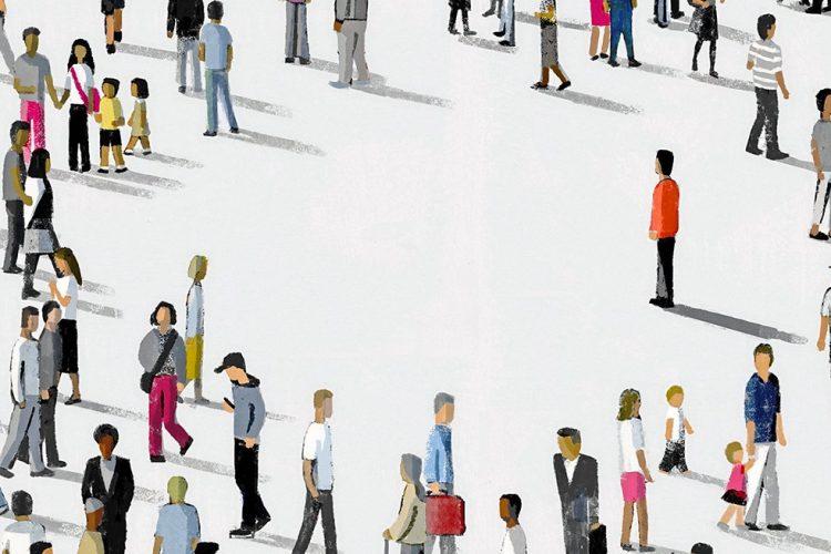 A társadalmi távolságtartás életünk részévé vált